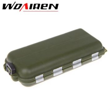 WDAIREN Plastic Fishing Box Bait Case With 16 Compartments Carp Fishing Accessories Equipment Boxes For Fishing Pesca WD-136