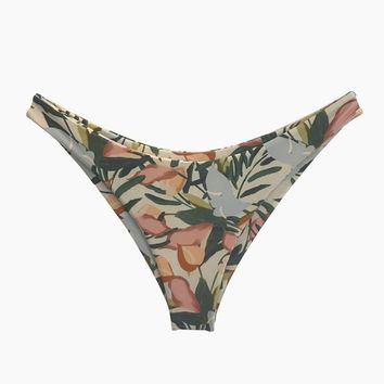 Byron High Cut Bikini Bottom - Vintage Floral Print