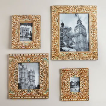 Blue Leighton Wall Frames - World Market