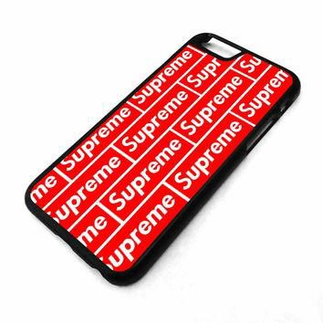 SUPREME Clothing Skateboarding iPhone 4/4S 5/5S 5C 6 6 Plus Case Cover