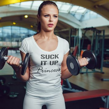 Suck It Up Princess Womens Activewear Women's tee