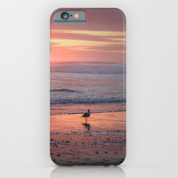 Sunset at Cannon Beach Oregon iPhone & iPod Case by Wood-n-Images