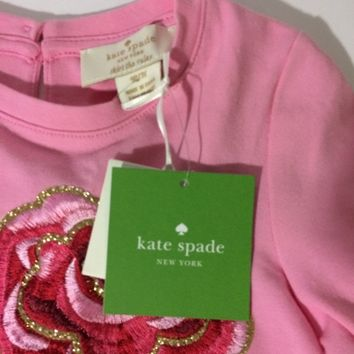 Kate spade Pink Toddler Rose dress -Size 3Y