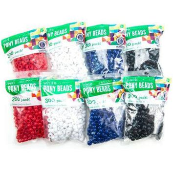 Plastic Pony Beads Assortment ( Case of 60 )