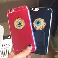 Blue Light Eyes iPhone 5s 6 6s Plus Case Super Light Cover Gift-166