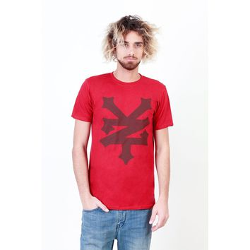 Zoo York Men T-shirts Red