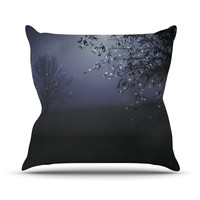 "Monika Strigel ""Song of the Nightbird"" Throw Pillow, 18"" x 18"" - Outlet Item"