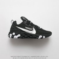 [ Free  Shipping ]  Undercover x Nike Upcoming React Element 87  Running   Sneaker