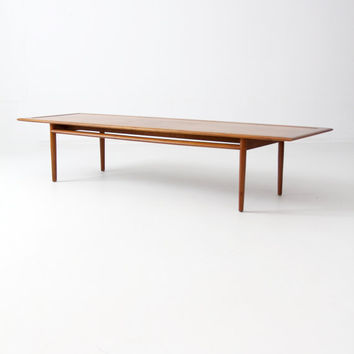 mid century Drexel Parallel coffee table, mcm cocktail table