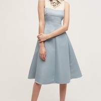 Sara Emanuel Jane Shirtdress in Sky Size: