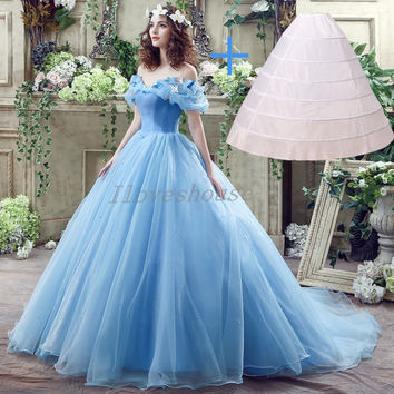 Shop Cinderella Ball Gown on Wanelo