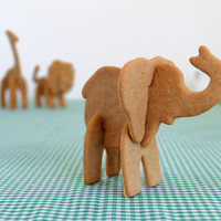 Bake Your Own 3D Safari Animals