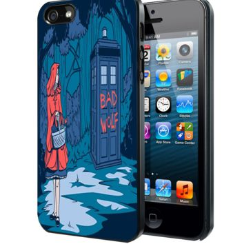 Little Red Riding Hood Tardis Samsung Galaxy S3 S4 S5 S6 S6 Edge (Mini) Note 2 4 , LG G2 G3, HTC One X S M7 M8 M9 ,Sony Experia Z1 Z2 Case