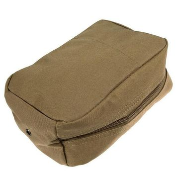 DKF4S Medical Military Durable First Aid Sling Pouch Waterproof Oxford Fabric Tactical Waist Bag