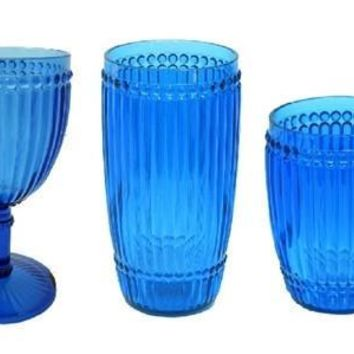 Milano Outdoor Drinkware | Blue Set / 6