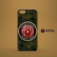 MARINE CORP Design Custom Case by ditto! for iPhone 6 6 Plus iPhone 5 5s 5c iPhone 4 4s Samsung Galaxy s3 s4 & s5 and Note 2 3 4