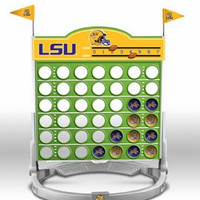 Connect Four Ncaa Game - Louisiana State University - Fighting Tigers