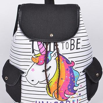 2018 Time To Be A Unicorn Backpack
