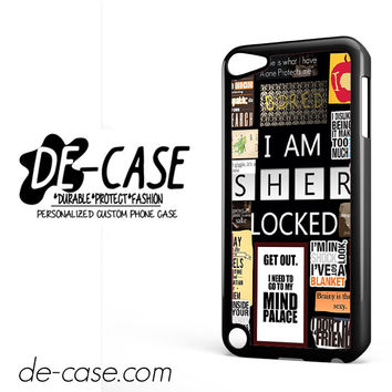 Sherlock Holmes Wallpaper Bbc DEAL-9564 Apple Phonecase Cover For Ipod Touch 5