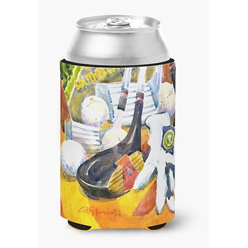 Southeastern Golf Clubs with glove and balls Can or Bottle Beverage Insulator Hugger