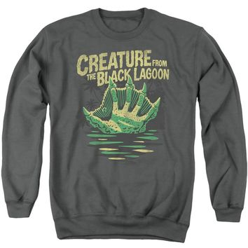Creature from the Black Lagoon Sweatshirt Hand Charcoal Pullover