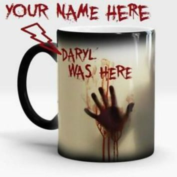 Walking Dead Zombie Magic Color Changing Coffee Mug Tea Cups