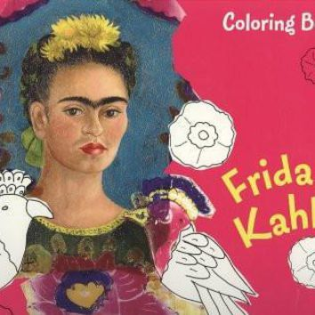 Frida Kahlo Coloring Book