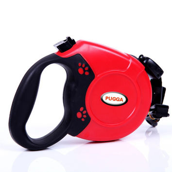 New 5M 8M Retractable Dog Leash Automatic Extending Pet Walking Leads For Medium Large Dogs