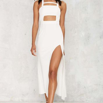 Cutout of Bounds Maxi Dress