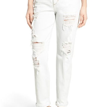 'Collector's - Debbie' High Rise Boyfriend Jeans (Cori)