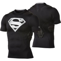 Under Armour Youth Superman Alter Ego Gameday Armour 5-Pad Football Shirt