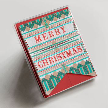 Merry Christmas Banner Boxed Set