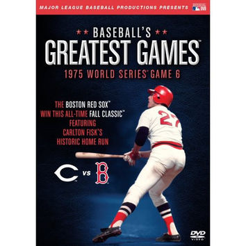 Baseball's Greatest Games: 1975 World Series Game 6 Dvd