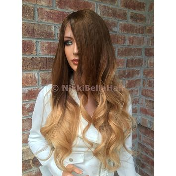 """Ombre Honey Full lace wig 24"""""""