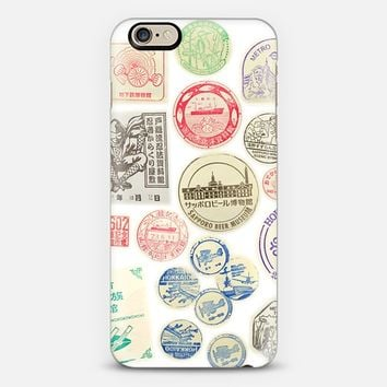 STAMPS iPhone 6 case by austeja platukyte | Casetify