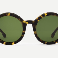 Steven Alan - Rowe Rubberized Tribeca Tortoise Sunglasses