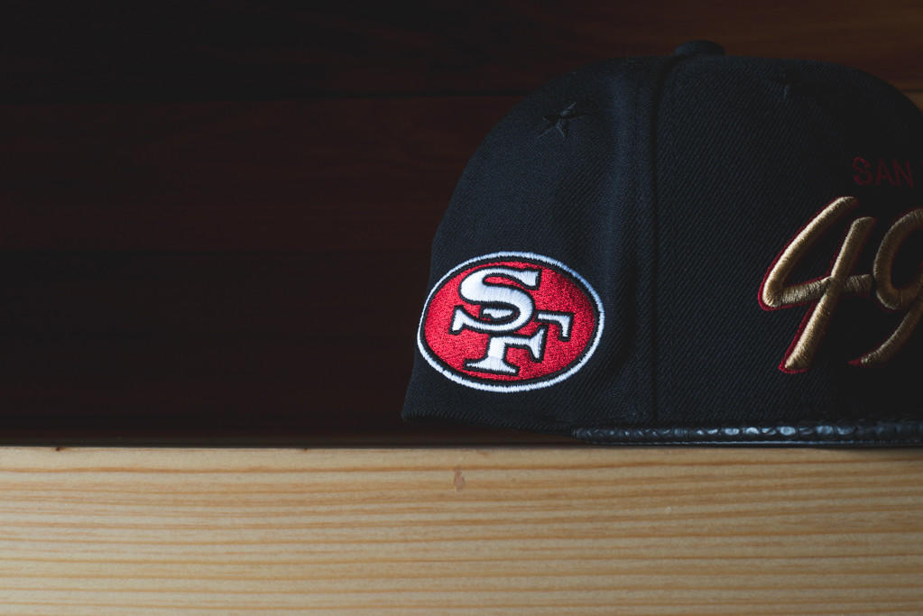 c386aded7 Just Don San Francisco 49ers -  Black  from sneakerpolitics.com