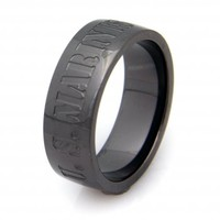 US Marines Military Ring - United States Marine Corps Veteran Ring