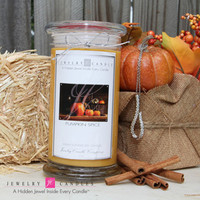 Pumpkin Spice Jewelry Candle