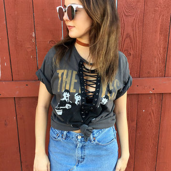 Beatles Lace Up Tee