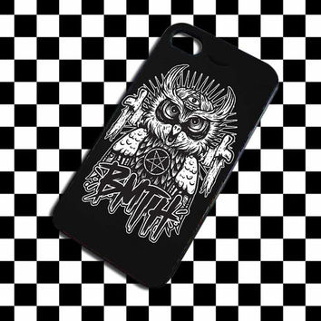 Bring Me the Horizon Owl Poster iPhone 4, iPhone 4S, iPhone 5, Samsung Galaxy S3, Samsung Galaxy S4 Case