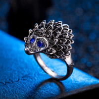 New selling small hedgehog ring alloy ring female retro jewelry ring