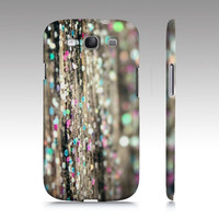 "Samsung Galaxy S3 Case - Glitter on Wood - Fine Art Abstract Photography - ""Afterparty"""