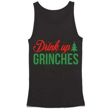 Drink Up Grinches Tank Top