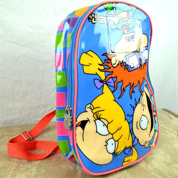 Super Cute 90s Nickelodeon Rugrats 1990s Mini Backpack