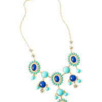 Lilly Pulitzer Dew Drop Bib Necklace