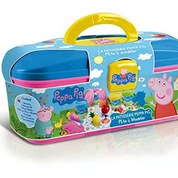 Peppa Pig Picnic Dough Set Ages 3+ Works with Play Doh