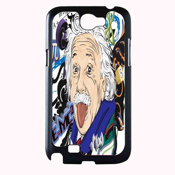 einstein art FOR SAMSUNG GALAXY NOTE 2 CASE**AP*