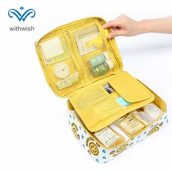 Clearance Sale! Multifunction Cosmetics Organizer Pouch Portable Travel Toiletry Bag Bathroom Storage Bag Free Shipping
