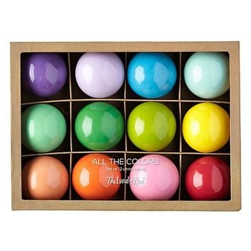 All the Colors of the Rainbow Ornaments (Set of 12) | The Land of Nod